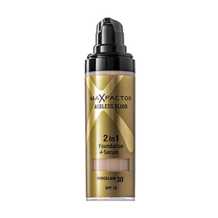 Max Factor Ageless Elixir 2 in 1 Foundation + Serum 30ml