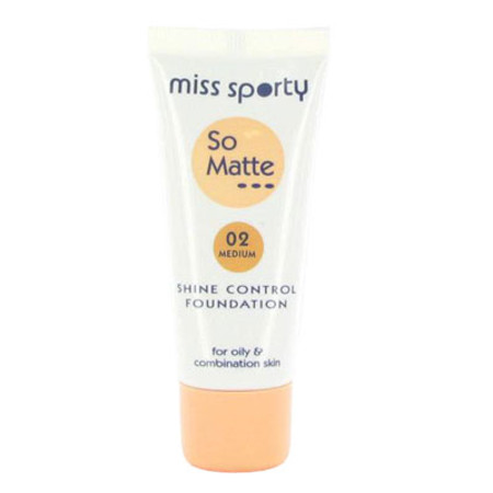 Miss Sporty So Matte Shine Control Foundation 30ml