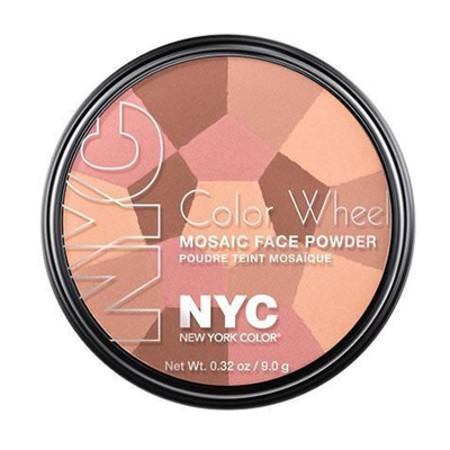 NYC Color Wheel Mosaic Face Powder 9g