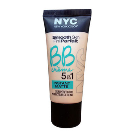 NYC Smooth Skin BB Creme 5 in 1 Instant Matte 30ml