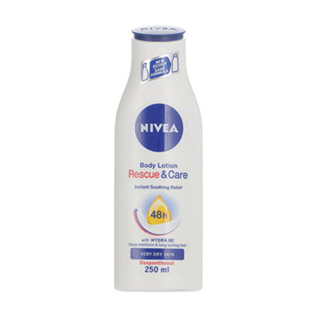 Nivea Rescue & Care 48h Body Lotion Very Dry Skin 250ml