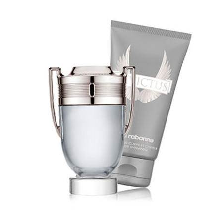 Paco Rabanne Invictus EDT Spray 50ml with Free Gift