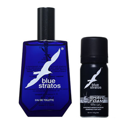 Parfums Bleu Limited Blue Stratos EDT 100ml + Free Gift