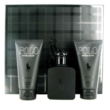 Ralph Lauren Polo Double Black Gift Set 75ml