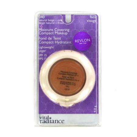 Revlon Vital Radiance Moisture Covering Compact Make Up 9g