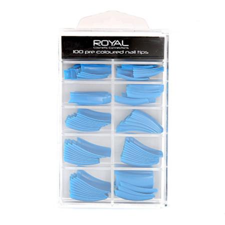 Royal 100 Pre Coloured Nail Tips