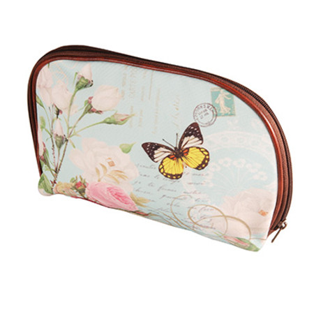 Royal Vintage Chic Make Up Bag Butterfly