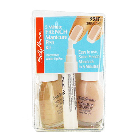 Sally Hansen French Manicure Kit 2 x 13.3ml Sheer Pink