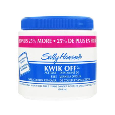 Sally Hansen Qwik Off Nail Colour Remover 150.8ml
