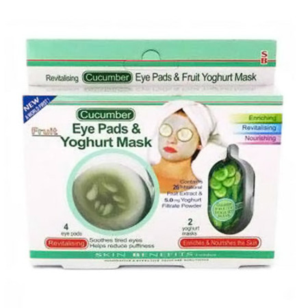 Skin Benefits Eye Pads & Yoghurt Mask