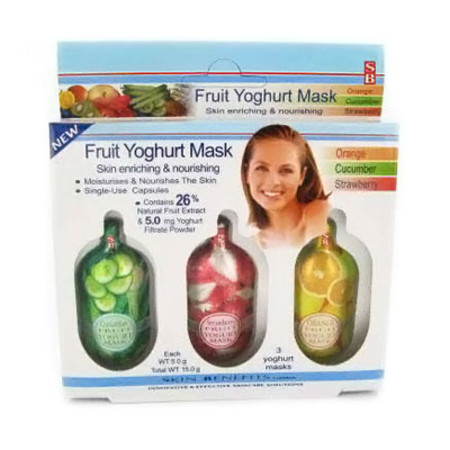 Skin Benefits Fruit Yogurt Masks
