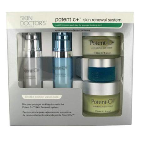 Skin Doctors Potent C Skin Renewal System Gift Set