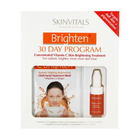Skin Vitals Brighten 30 Days Program Gift Set