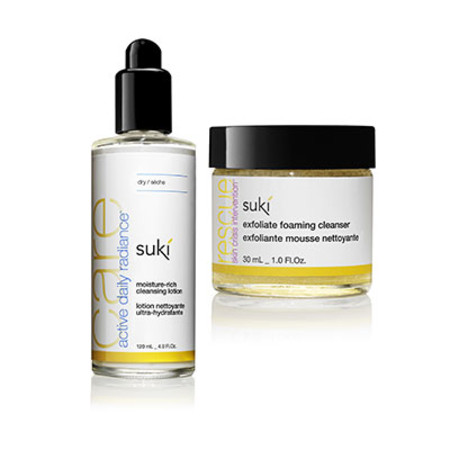 Suki Moisture Rich Cleansing Lotion 120ml With Free Gift