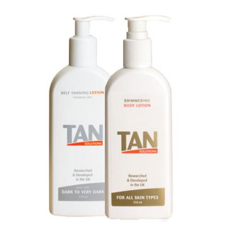 Tan Solutions Self Tan Lotion 250ml Dark-Very Dark