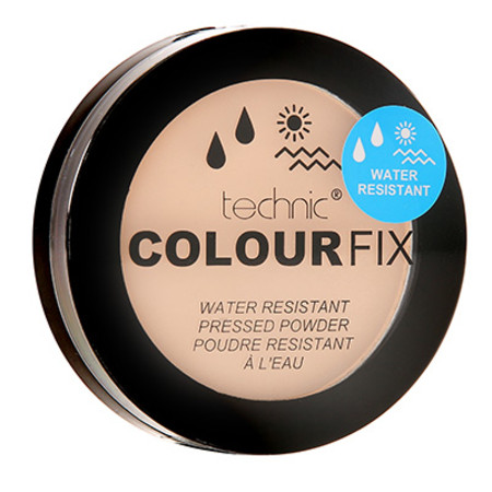 Technic Colour Fix Water Resistant  Pressed Powder 12g