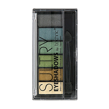 Technic Sultry Eyeshadows Pallette 6 x 1.2g