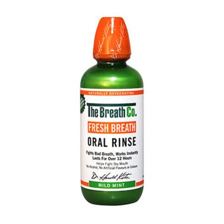 The Breath Co Fresh Breath Mouthwash Mild Mint 500ml