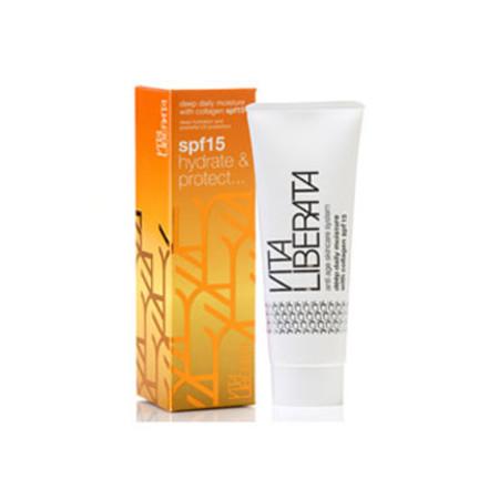 Vita Liberata Deep Daily Moisture with Collagen SPF15  50ml