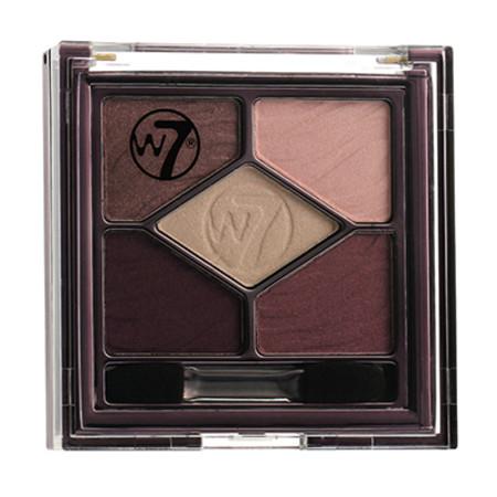 W7 Silky Eyes Shadow Palette 4.5g