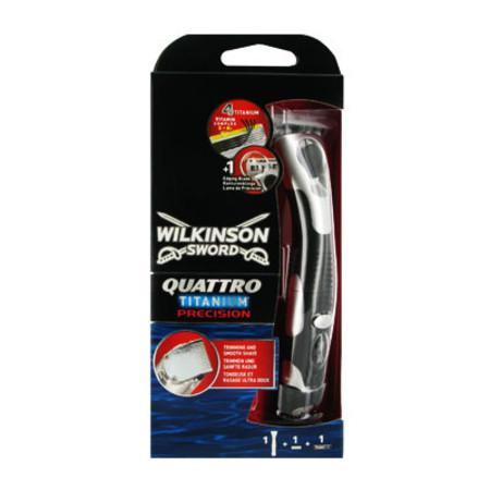 Wilkinson Sword Quattro Titanium Razor & Blade