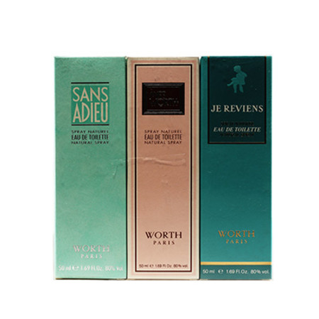 Worth Collection Gift Set 3 x 50ml