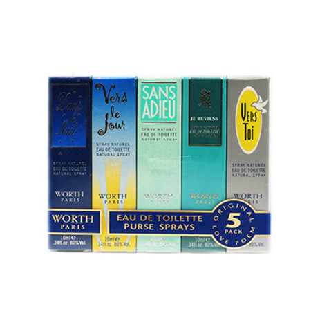 Worth Mini Collection Gift Set 5 x 10ml