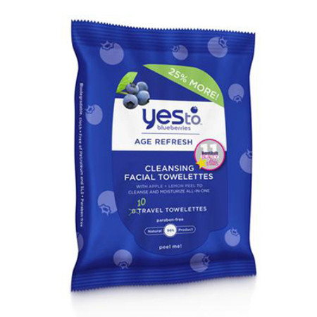 Yes To Blueberrie Cleansing Wipes 10 wipes