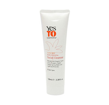 Yes To Carrots Gentle Exfoliating Facial Cleanser 100ml