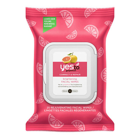 Yes To Grapefruit Rejuvenating Wipes 30 wipes