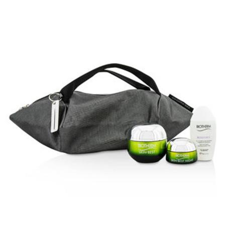 Biotherm Skin Best X Mandarina Duck Coffret: Cream SPF15 N/C 50ml + Night Cream 15ml + Biosouce Cleansing Water 30ml + Handle Bag 3pcs+1bag