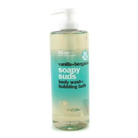 Bliss Vanilla + Bergamont Soapy Suds (Body Wash + Bubbling Bath) 473.2ml/16oz