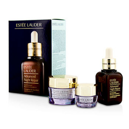 Estee Lauder Anti-Wrinkle Set: Advanced Night Repair 30ml/1oz + Advanced Time Zone SPF 15 15ml/0.5oz + Advanced Time Zone Eye 5ml/0.17oz 3pcs