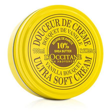 L`Occitane Shea Butter Ultra Soft Cream - Vanilla Bouquet 100ml/3.5oz