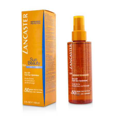 Lancaster Sun Beauty Dry Oil Fast Tan Optimizer SPF50 150ml/5oz