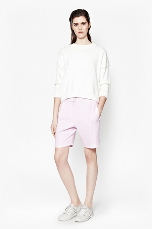 Sorbet Suiting City Short - Crystal Clear