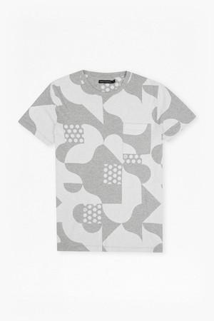Tile Camo Jersey T-Shirt - Prince Blue/Marine