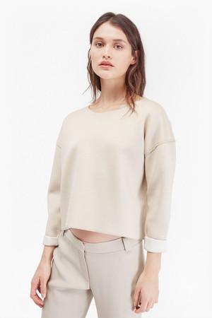 Zanzi Scuba Sweatshirt - Grey Mel/Clear Mirage