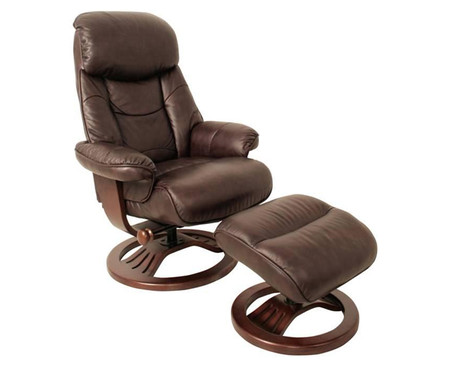 GFA Hereford Recliner and Footstool
