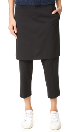 3.1 Phillip Lim Apron Pants - Black