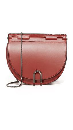 3.1 Phillip Lim Hana Saddle Chain Bag - Brick