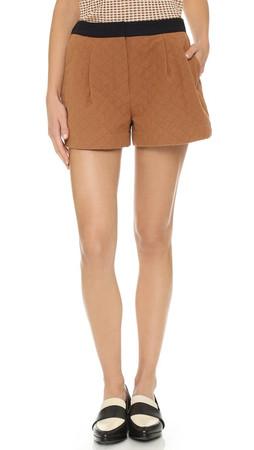 3.1 Phillip Lim Utility Shorts - Caramel