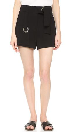 A.L.C. Lucile Shorts - Black