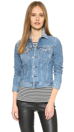 Ag Robyn Denim Jacket - 12 Years Sunrise