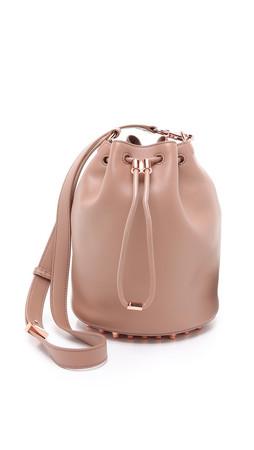 Alexander Wang Alpha Bucket Bag - Latte