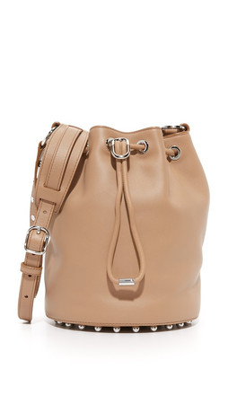 Alexander Wang Alpha Bucket Bag - Light Nude