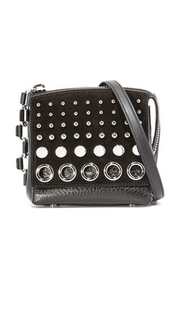 Alexander Wang Attica Flap Marion With Studs - Black