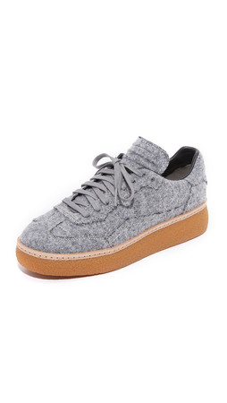Alexander Wang Eden Low Top Sneakers - Heather Grey