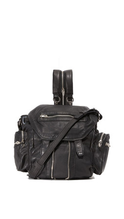 Alexander Wang Mini Marti Backpack - Black