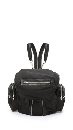 Alexander Wang Nylon Marti Backpack - Black